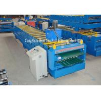 Buy cheap PLC Control Automatic Steel Double Layer Roll Forming Machine High Efficiency from wholesalers