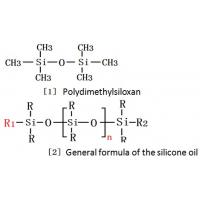 Polydimethylsiloxan,General formula of the silicone oil