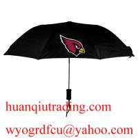 Buy cheap New style branded N-F-L umbrella,Top grade wholesale price,paypal black designer umbrella from wholesalers
