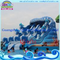 Buy cheap Inflatable Funny Water Slide Wet Water Slide Water Pool Inflatable Slide from wholesalers