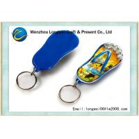 Buy cheap Blue slipper acrylic fridge magnet OEM with key ring , Promotion Gifts from wholesalers