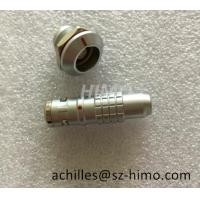 Buy cheap IP68 Lemo Waterproof Push Pull Connector 2 3 4 5 6 7 8 9 10 12 Pin Circular Metal Connector With Cable Wiring Harness from wholesalers