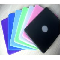 Buy cheap Purple / Black / Green / Pink / Blue Ipad Silicone Skin Case, Silicon Cover OEM / ODM from wholesalers