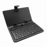 Buy cheap 10-inch Leather Case Keyboard, Support All Tablet PC/Spanish/France/Russian Languages from wholesalers
