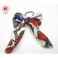 Buy cheap Nylon Bowknot Shape Hair Scrunchies With Elastic Ring Pony Tail Holder product