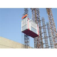 Buy cheap Construction Building Passenger And Material Hoist , 2700kg Capacity product