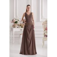 Buy cheap Women Beaded Spaghetti Strap Floor Length Celebrities Evening Dresses for Prom from wholesalers