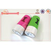 Buy cheap Eco-friendly LED Light Flashing Dog Waste Bag Dispenser Color Printed from wholesalers