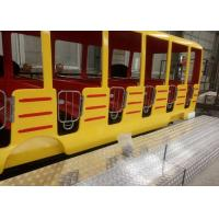 Buy cheap 360 Degrees Rotation Kids Theme Park Rides , 24 Seats Crazy Bus Ride For All Ages from wholesalers