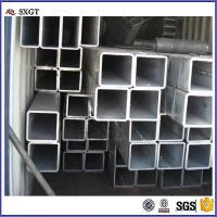 Buy cheap Galvanized Steel Pipe / Tube Structure Building Material Square Tube 100×100 from wholesalers