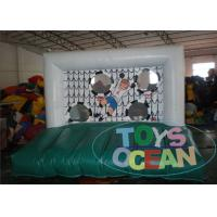 Buy cheap Mini Football Inflatable Soccer Games / White Interactive Party Games For Kids from wholesalers