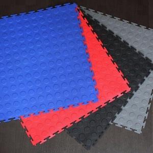 China Driveway garage outdoor interlocking plastic floor tiles on sale