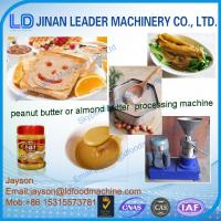 Buy cheap hot sale stainless steel peanut butter machine/peanut butter grinder machine from wholesalers