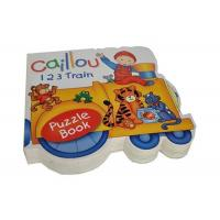 Buy cheap Customized Full Color Educational Printing Shaped Books for Preschool from wholesalers