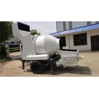 Buy cheap Electromagnetic Clutch Skid Steer Concrete Mixer 4 Wheel Loader Beteen Two Sites from wholesalers