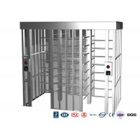 Buy cheap Double Passage Controlled Access Turnstile Rapid Identification For Stadium product