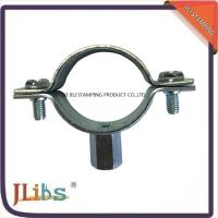 Buy cheap M8+10 Nut Cast Iron Pipe Clamps For Pipe Connection , Pipe Clamp Bracket from wholesalers