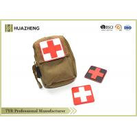 Buy cheap Red Cross Printed Soft Rubber / PVC Badge Resusable Ecofriendly from wholesalers