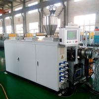 Buy cheap WPC profile extrusion line PE+wood plastic composite WPC decking extrusion line from wholesalers
