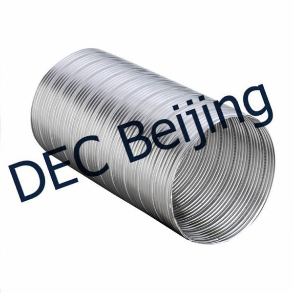 Fire resistance semi rigid flexible duct inch aluminum