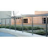 Buy cheap 304s.s 316s.s Wire Balustrade Fittings/ Steel Railings For Patio from wholesalers
