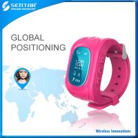 Buy cheap Personal Wrist GPS Watch Tracker For Elders Children Kids Real Time GPS/GPRS/GSM Tracking System 900/1800/1900mhz product