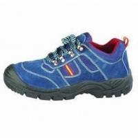 Buy cheap PU Injected Leather Safety Shoes product