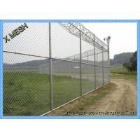 Buy cheap Plain Weave Metal Chain Link Fence Screen PVC Coated 8 Gauge Galvanised Chain Link Fencing from wholesalers
