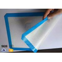 Buy cheap Reusable Fiberglass Non Stick Silicone Baking Mat Silicone Oven Liner from wholesalers