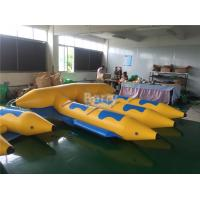 Buy cheap 0.9mm PVC Tarpaulin Material Gonflable Flyfish Inflatable Flying Fish Water Ski Tube Towable from wholesalers