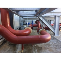 Buy cheap A795 schedule 10 erw welded carbon steel pipes for fire fighting use with painted and grooved ends/ ASTM A53 steel pipe from wholesalers