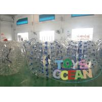 Buy cheap Children Human Hamster Ball Rental / Inflatable Body Bumper Ball Backyard from wholesalers