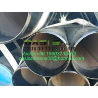 Buy cheap 8inch ASTM A53 Grade B ERW Blind Carbon Steel Well Casing Pipes from wholesalers