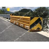 Buy cheap Anti Impact Sled Crash Cushion Barrier Thickened Pipe Reflective Night Driving from wholesalers