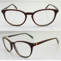 Buy cheap Custom Hand Made Acetate Women Optical Frame , Oval Acetate Eyeglasses Frames product