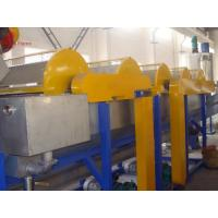 Buy cheap PVC plastic bottle recycle machine / PET recycling machine high speed from wholesalers