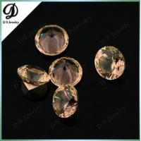 Buy cheap Round Faceted Created Gemstone 204# Color Change Nanosital from wholesalers