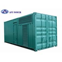 Buy cheap Quiet 1100kVA Cummins Diesel Generator Fuel Consumption Low Noise from wholesalers
