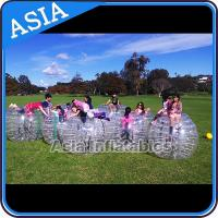 Buy cheap Custom 1.8m  Inflatable Body Bumper Ball For Adult Sports Games product