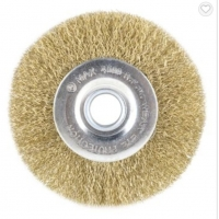 Buy cheap Brass Copper Coated Drawing Drum Wheel Wire Brush from wholesalers