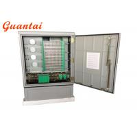 Buy cheap Outdoor Ground Mounted Fiber Optic Distribution Cabinet IP65 Protection Grade from wholesalers