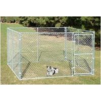 Buy cheap Light Weight 71kg Walk In 4x2m Dog Run Kennel from wholesalers