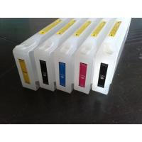 Buy cheap Plastic 700ml Replacement Ink Cartridge Low Cost For Epson , Empty product