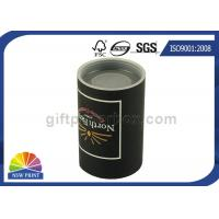 Buy cheap Custom Logo Imprint Plastic Cap Paper Can Packaging , Cardboard Tube Containers from wholesalers