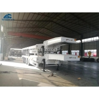 Buy cheap 13000*3000*1650mm Semi Low Bed Trailer from wholesalers