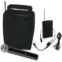 Buy cheap VHF 200W Portable Public Address System guitar Amplifier (TK-T89) with CD player  from wholesalers