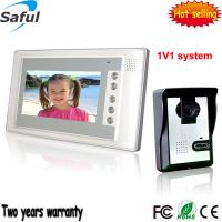 """Buy cheap Free shipping 7"""" LCD Monitor video door Phone taking pictures access control DoorBell Intercom System from wholesalers"""