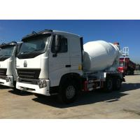 Buy cheap Heavy Duty Concrete Mixer Truck 10CBM Tanker HW1910 Transmission 317HP from wholesalers
