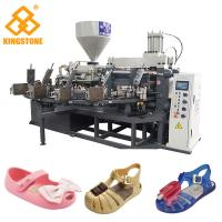Buy cheap Crystal Shoes Slipper Making Machine, PVC kids Jelly Shoe sandal Injection Moulding Machine from wholesalers