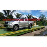 Buy cheap 60 Ton Truck Scale Weighbridge 10kg Accuracy U - Shape Beams For Truck Weighting from wholesalers